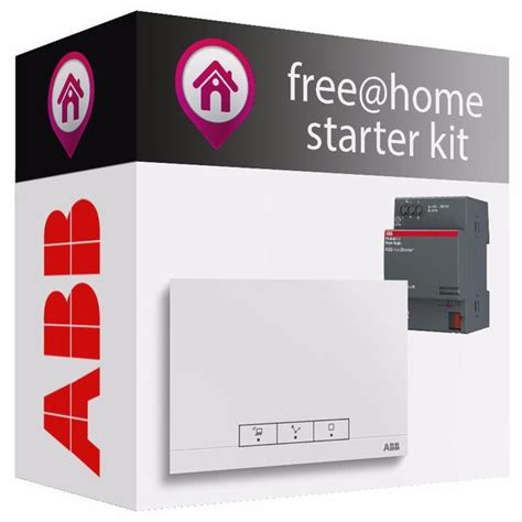 abb free home 174 starter kit smart home supplies ltd