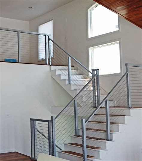 cable banister cable railing systems customer installation photos