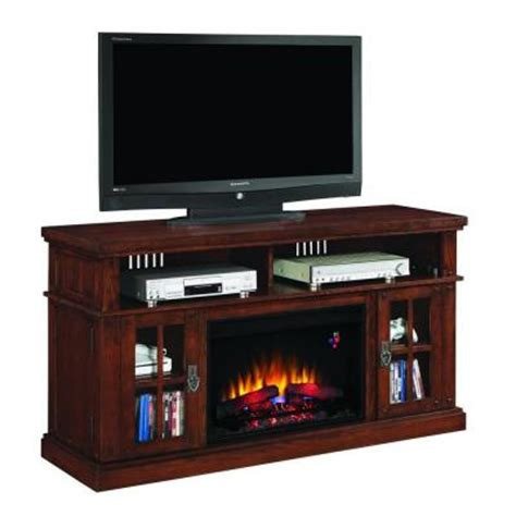 oak finish electric fireplace classic dakota 60 in media mantel electric