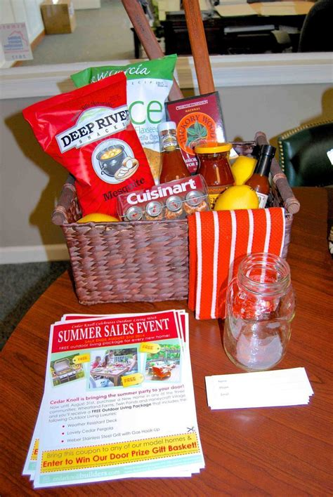 Door Giveaway - enter to win our gift basket giveaway cedar knoll blog