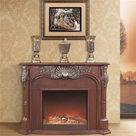 fashion fireplace american style solid wood fireplace