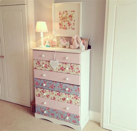 Decoupage Dresser With Fabric - the home that made me diy makeover decoupage chest of