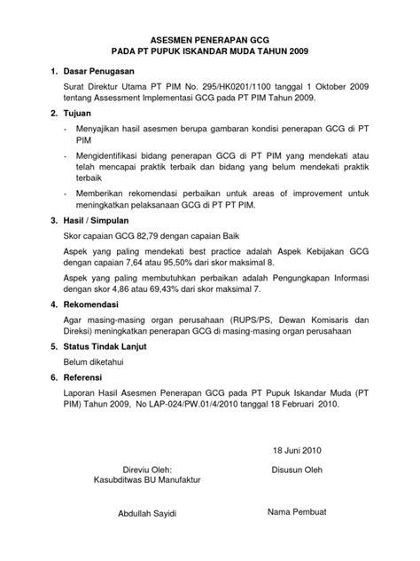 format laporan eksekutif contoh laporan eksekutif summary