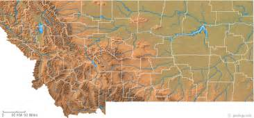 Montana Maps by Map Of Montana