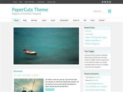 themes wordpress gratuit th 232 me wordpress gratuit papercuts theme wordpress gratuit