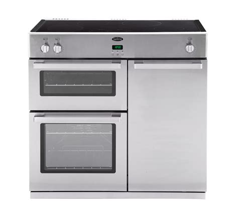 electric induction range cookers buy belling db4 90ei electric induction range cooker stainless steel free delivery currys
