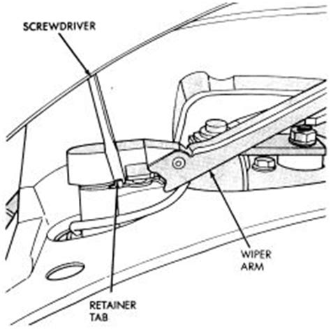 repair guides windshield wipers blade and arm autozone com repair guides windshield wipers rear window wiper blade and arm autozone com