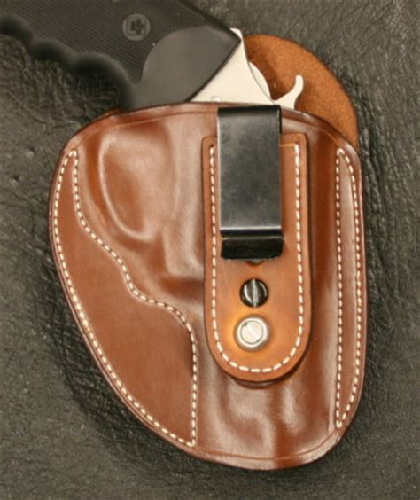 charter arms bulldog pug 44 special holster tuckable iwb for charter arms bulldog pug 44 d m bullard leather mfg