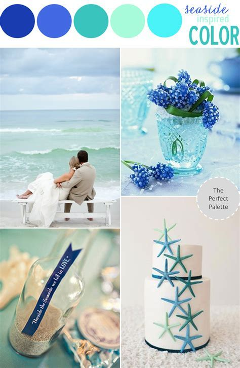 Color Story   COLOR STORIES   Wedding colors, Beach