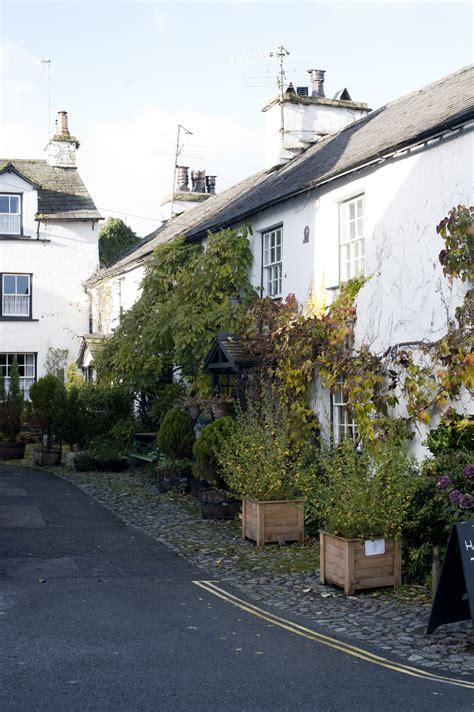 Cottages In Hawkshead by Free Stock Photo Of Whitewashed Cottages In Hawkshead