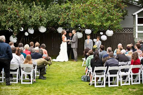 backyard wedding ceremony ideas backyard wedding ceremony prince george columbia
