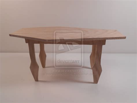 Unfinished Dining Tables High Furniture Unfinished Dining Table By Monsterminicustoms On Deviantart