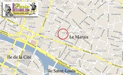 marais map le marais apartments apartment furnished rue du bourg tibourg