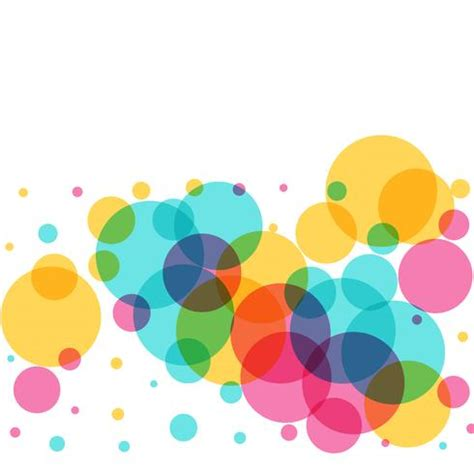 abstract colorful circles background download free
