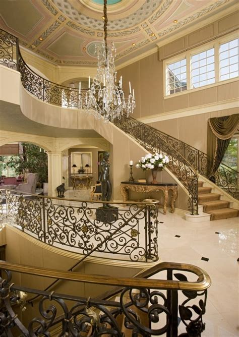 Grand Stairs Design 1842 Best Images About Home Decor On Pinterest Tuscan Decor Tuscan Decorating And Foyers
