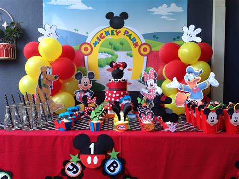 mickey mouse clubhouse printable birthday decorations how to make mickey mouse clubhouse charactor centrepieces