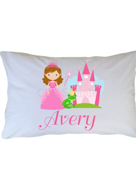 Princess Pillow Cases by Princess Pillow Personalized Travel By