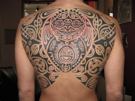 polynesian back tattoo polynesian tattoos pictures information on