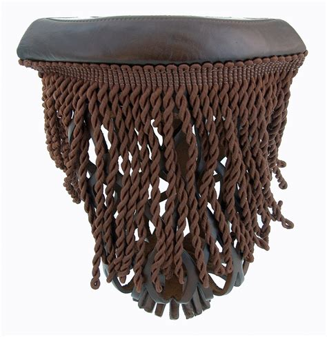 tp06 leather pool table pockets brown with fringe table