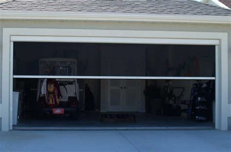 Screen Doors For Garage Garage Door Screens Gallery Sentinel Retractable Screens