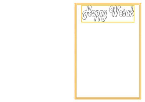 Vesak Card Templates by Wesak Vesak A Buddhist Celebration Buddha Day Buddha