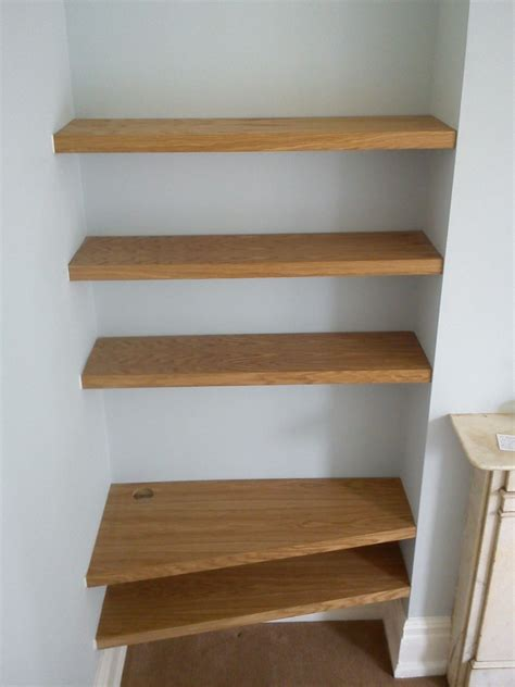 oak cherry shelves 187 richard sothcott brighton carpentry