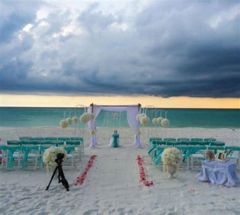 destin beach weddings in florida » destin and panama city