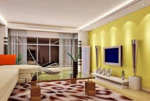wohnzimmer gelbe wand gray ceiling and yellow tv wall living room interior design