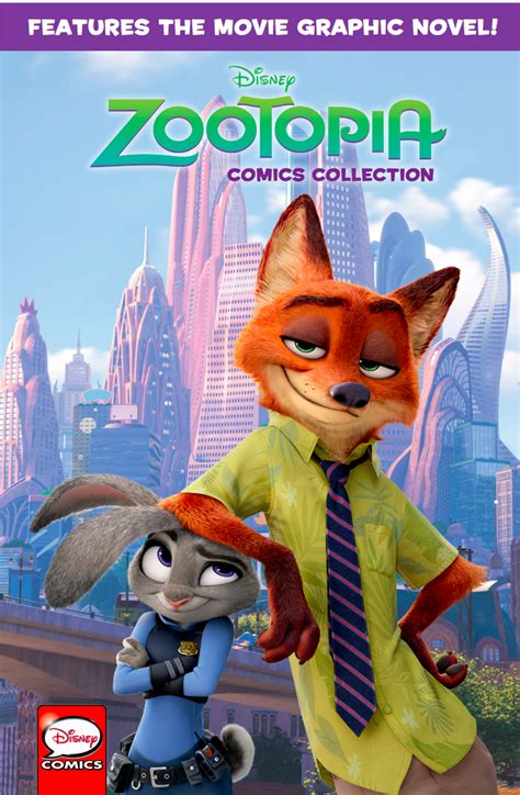 Zootopia Novel zootopia graphic novel cover zootopia