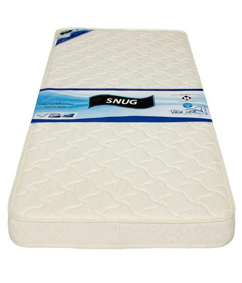 Single Memory Foam Mattress vibezzz white single memory foam mattress buy vibezzz