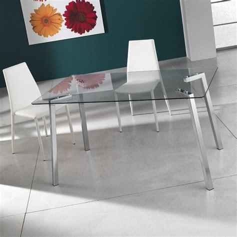 scrivania metallo tavolo scrivania bertrand in metallo cromato e vetro 140 cm