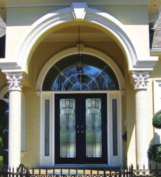 Arch Radius Transom Above Front Door Front Door And Top Front Door With Window Above