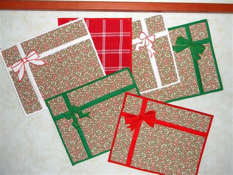 pattern christmas placemats oh so easy christmas placemats