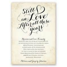 1000 ideas about wedding anniversary invitations on