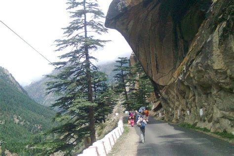 Panoramio - Photo of Bhairon Ghati-Harshil Way Near ...