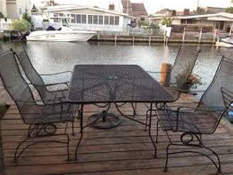Black steel patio furniture mesh outdoor decorations
