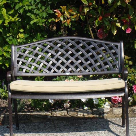lattice bench lattice bench seat cushion stone lazy susan
