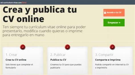 curriculum vitae en espanol gratis newhairstylesformen2014