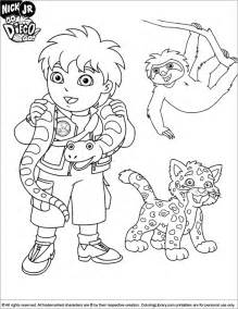 diego coloring az coloring pages