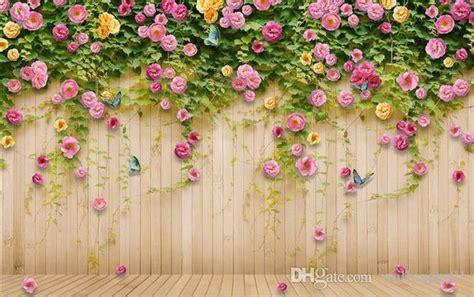 custom  photo wall paper original pink rose rose flower