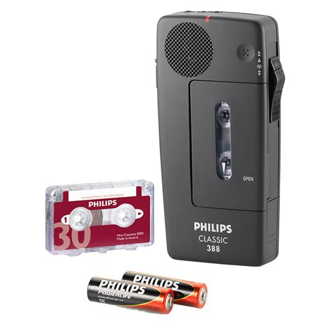 mini cassette philips mini cassette recorder lfh 388