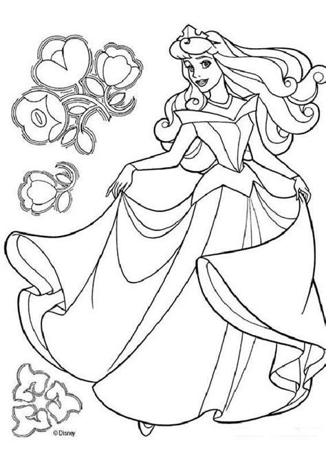 Disney Princess Belle Coloring Pages Princess Bell Coloring Page