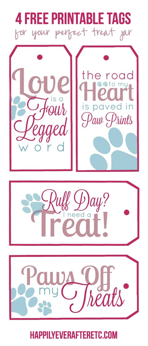 treat label template how to diy a treat jar with 4 free printable tags