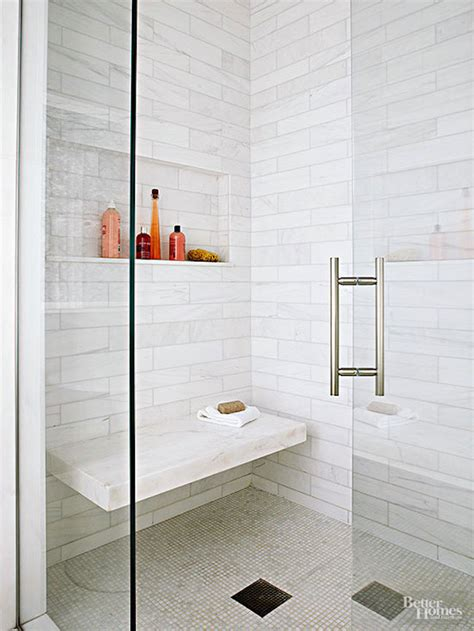 tiled shower with bench 25 bathroom bench and stool ideas for serene seated convenience