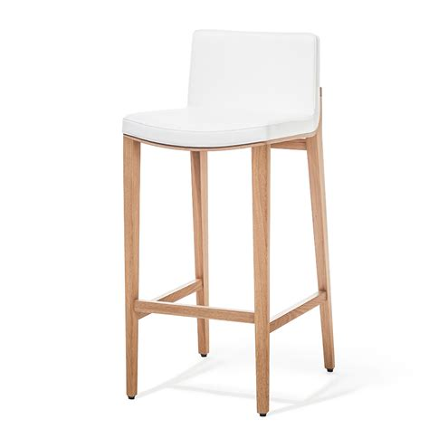 bar stools chair moritz upholstered bar stool the chair market