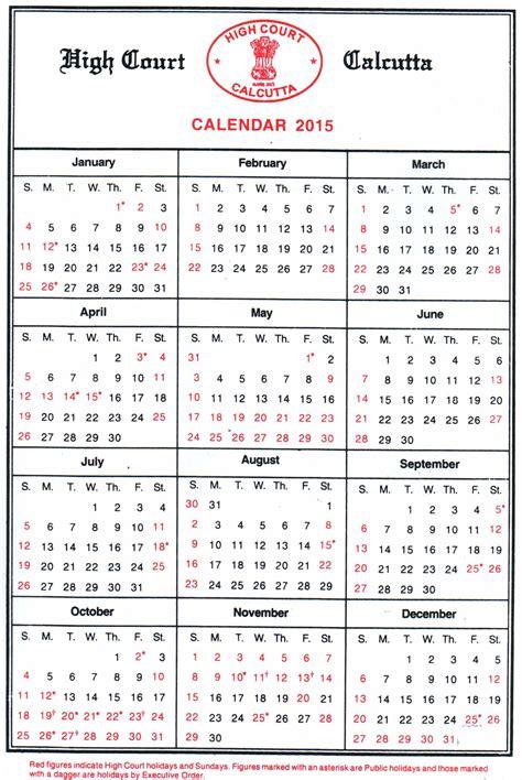 Court Calendar Court Calenders