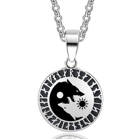316l Stainless Steel Yin Yang Pendant Necklace Norse Vikings Ru aliexpress buy abaicer 1pcs yin yang wolf sun moon 316l stainless steel norse vikings
