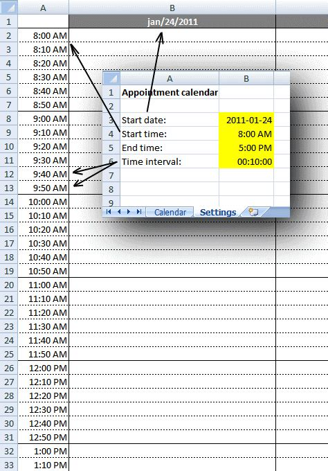excel weekly appointment calendar template weekly appointment calendar in excel