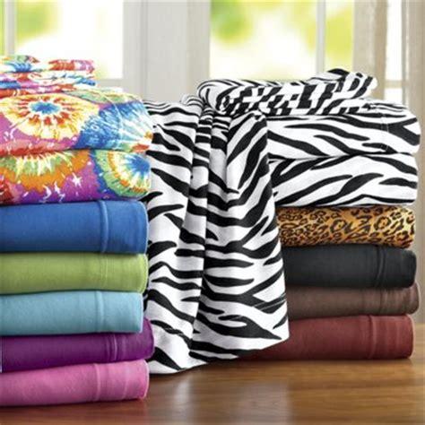Jersey Bedding Sheet Set Jersey Sheet Set From Ginny S Ji450951