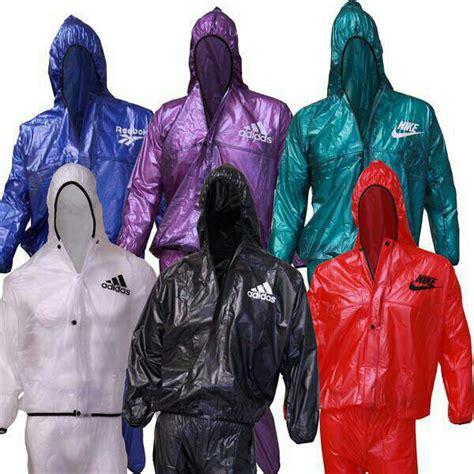 Harga Jas Hujan Reebok jual jas hujan sauna suit reebok nike adidas